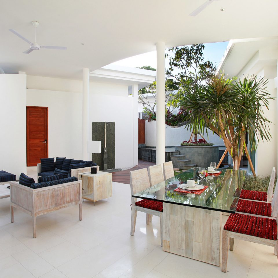Dining Eco Elegant Jungle Lounge Modern Patio Villa property restaurant home condominium living room Lobby