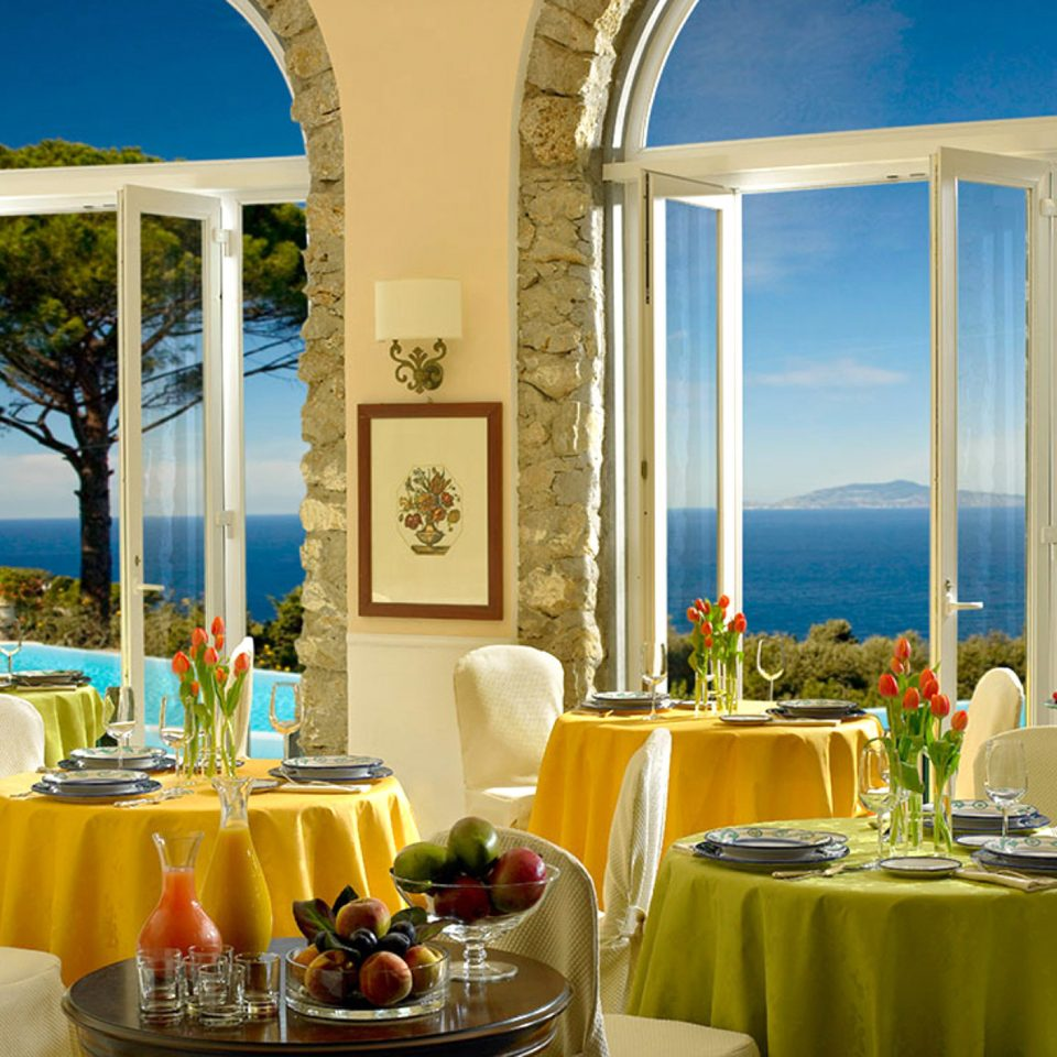 Dining Elegant Honeymoon Luxury Romantic Waterfront home restaurant Resort Villa palace function hall mansion overlooking