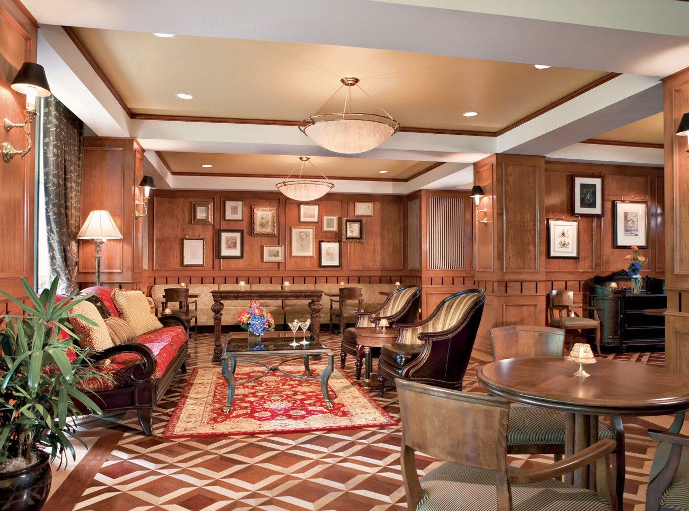 Elegant Lounge Rustic property home living room Kitchen cabinetry Dining cottage Lobby Island