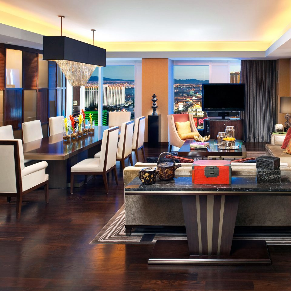 Dining Elegant Luxury Resort property recreation room living room home Lobby Suite condominium Modern