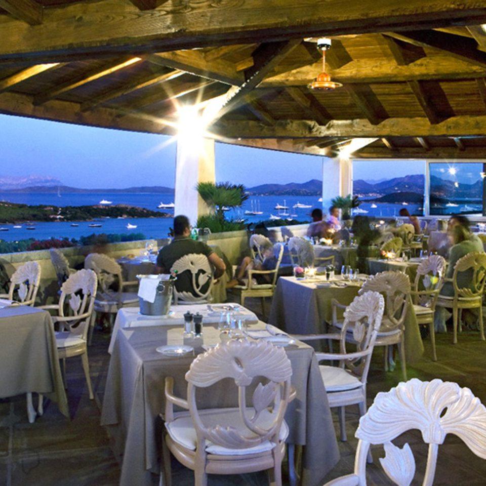 Dining Elegant Luxury Romantic Waterfront function hall restaurant banquet white wedding reception