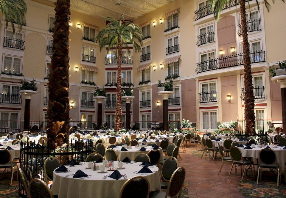Dining Family building restaurant function hall ballroom palace