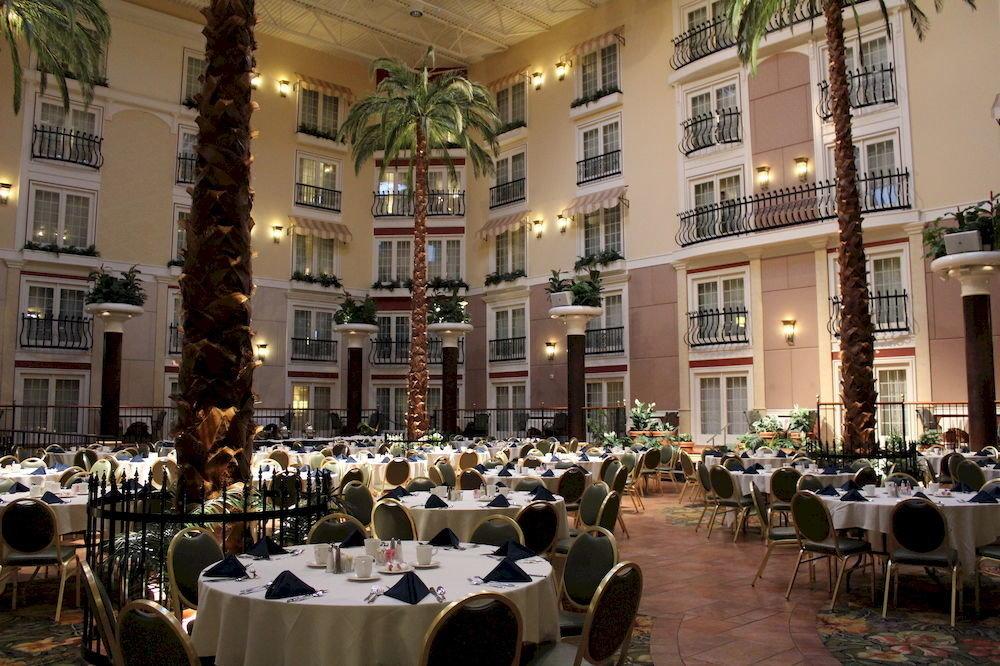 Dining Family building restaurant function hall ballroom palace