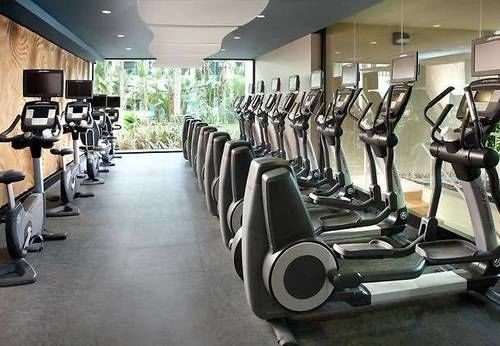structure gym sport venue leisure Dining lined