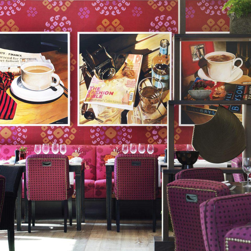 Dining Hip chair restaurant set