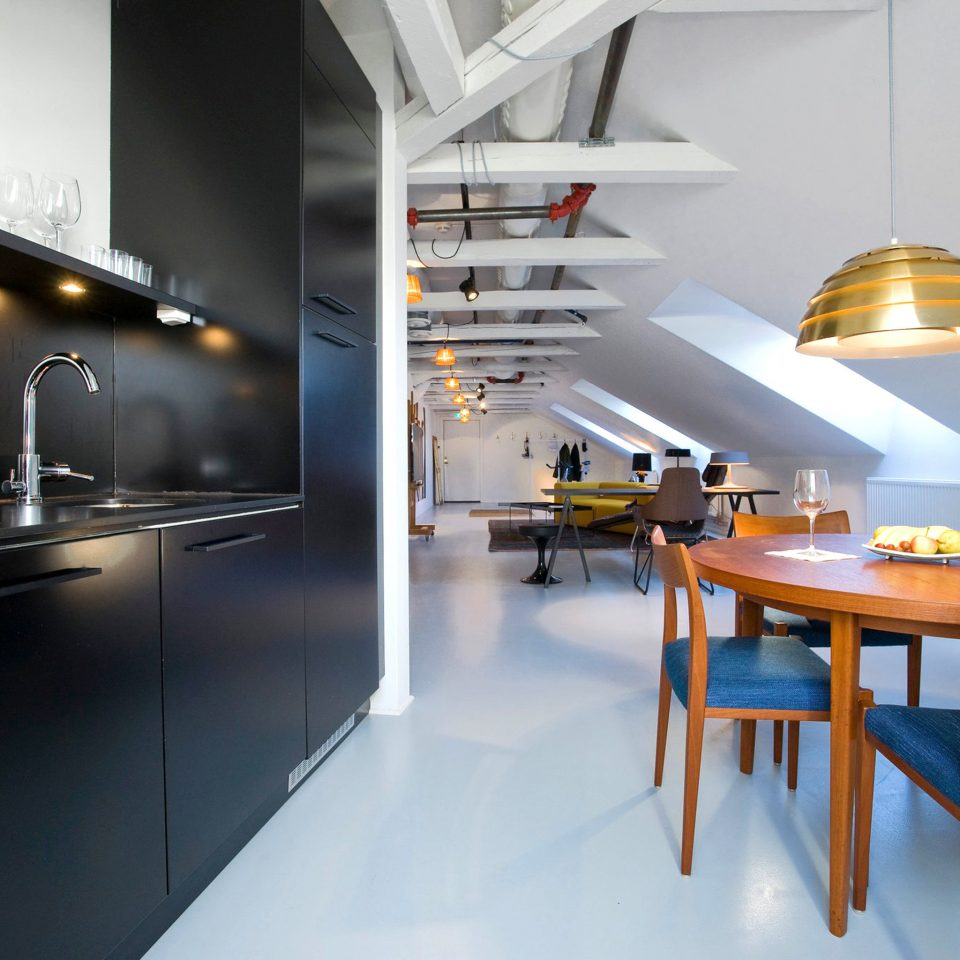 Dining Hip Kitchen Modern restaurant lighting home