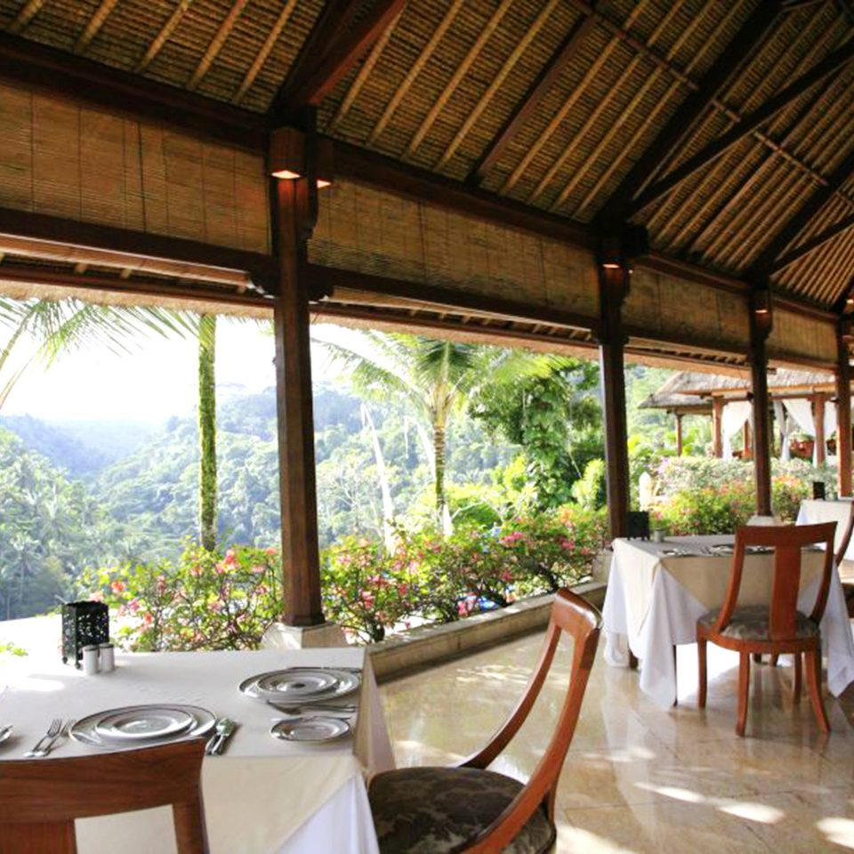 Dining Honeymoon Jungle Luxury Resort property building restaurant Villa home porch cottage eco hotel backyard outdoor structure hacienda