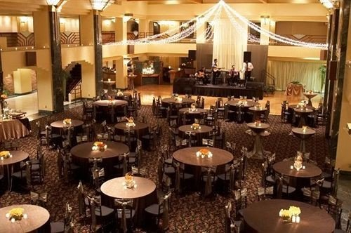 function hall Dining percussion banquet drums restaurant ballroom set wedding reception drum Island dining table