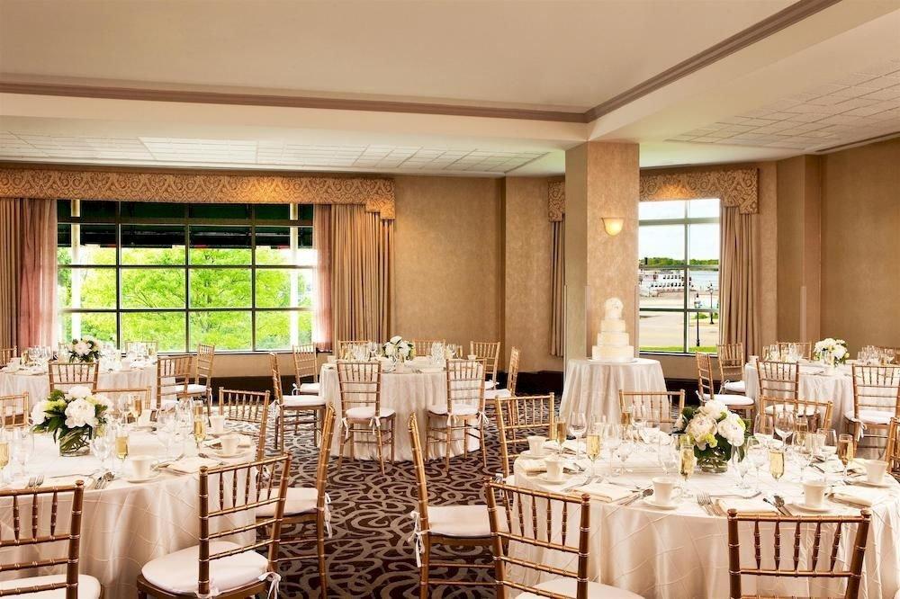 chair Dining function hall wedding restaurant ballroom banquet wedding reception set Island dining table