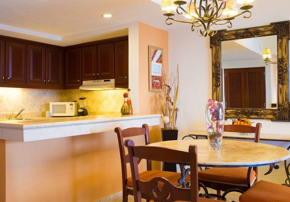 property Dining home Kitchen hardwood living room Suite cottage Villa Island dining table