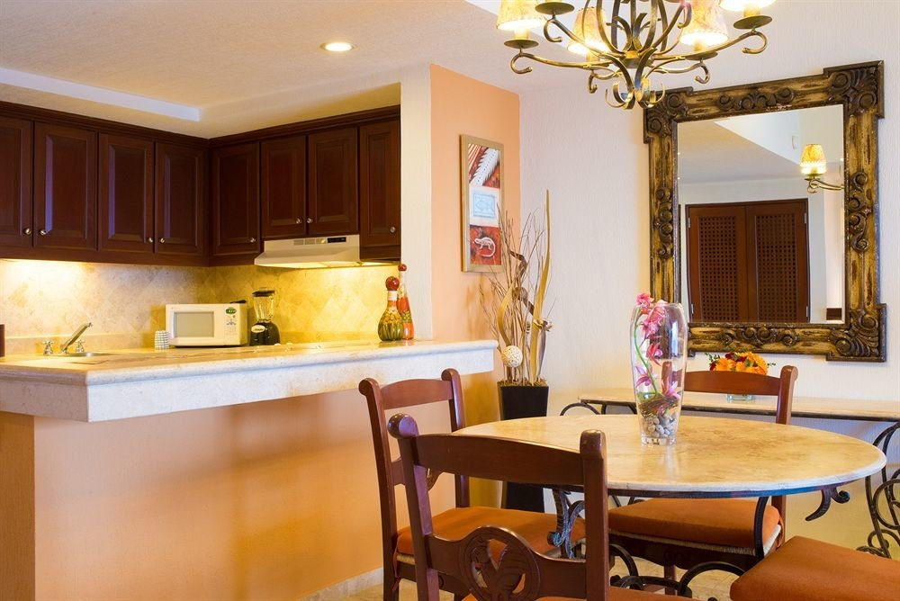 property Dining home Kitchen hardwood living room Suite cottage Villa Island dining table