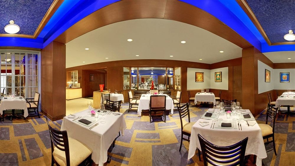 restaurant function hall Lobby Dining convention center Resort Modern Island