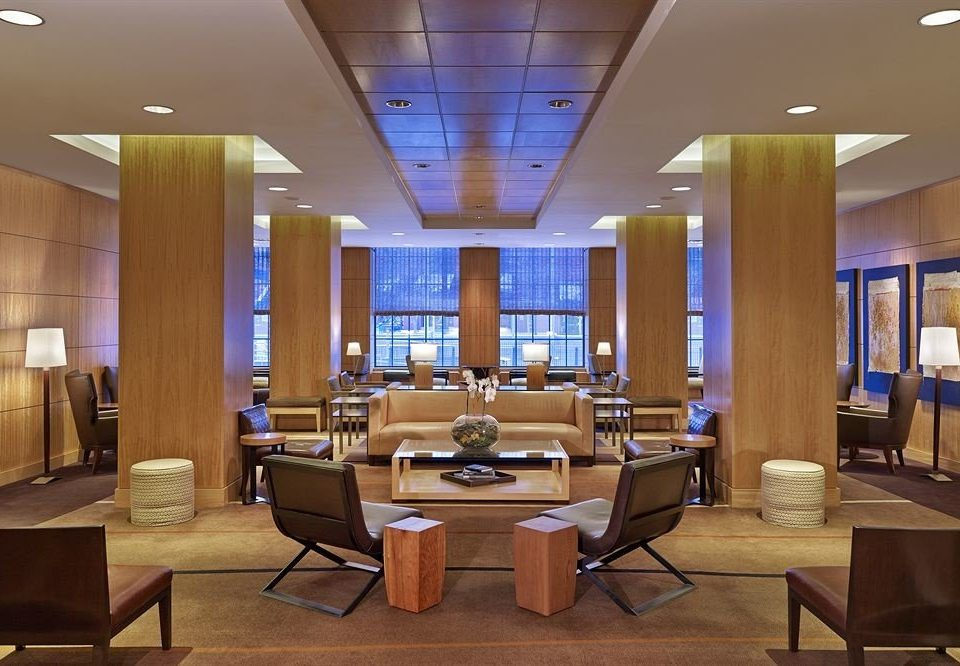 chair Lobby living room conference hall condominium recreation room convention center Suite Dining Island