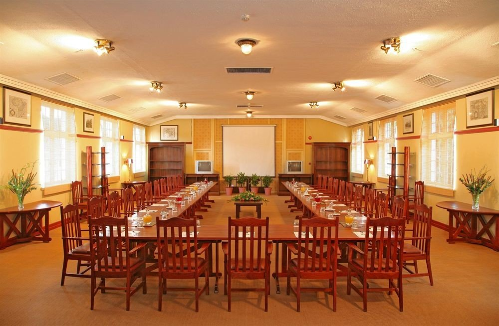 chair Dining property function hall scene restaurant palace ballroom conference hall convention center Resort set Island