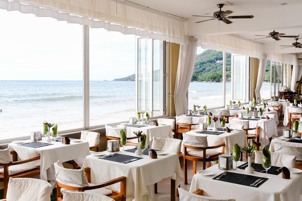 property restaurant Resort Villa Dining cottage function hall overlooking Island