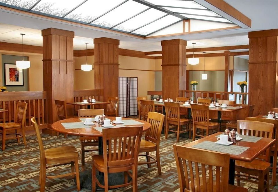 chair wooden Kitchen Dining restaurant function hall conference hall cafeteria convention center set dining table