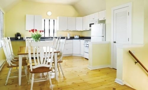 property cottage home hardwood wooden farmhouse wood flooring Kitchen Dining hard