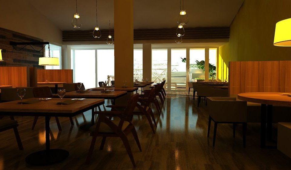 restaurant Dining lighting recreation room