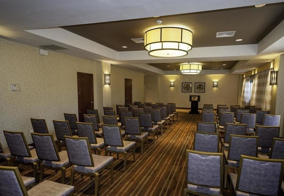 chair auditorium conference hall function hall Dining convention center Lobby ballroom meeting lined conference room