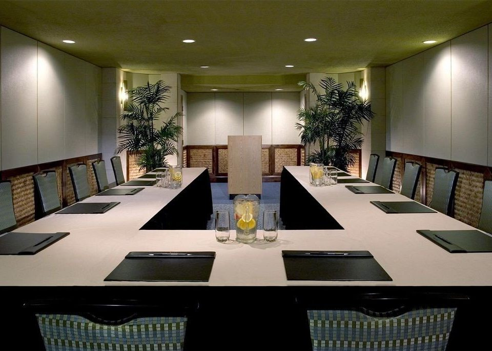 chair conference hall function hall auditorium convention center Lobby Dining set dining table conference room
