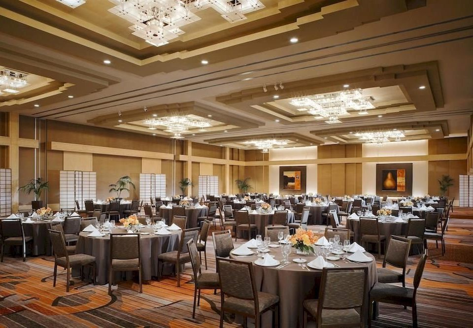 chair function hall restaurant Dining conference hall banquet convention center ballroom buffet Lobby