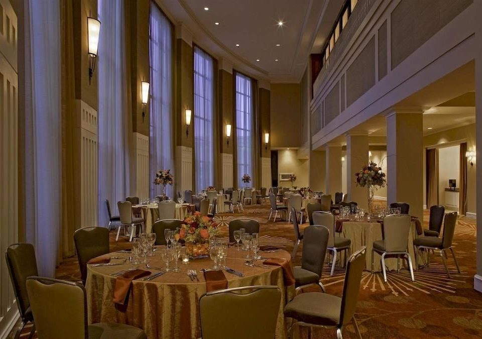 chair function hall restaurant Dining ballroom conference hall convention center banquet palace Lobby