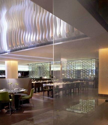 Lobby property lighting daylighting condominium convention center headquarters Dining basement