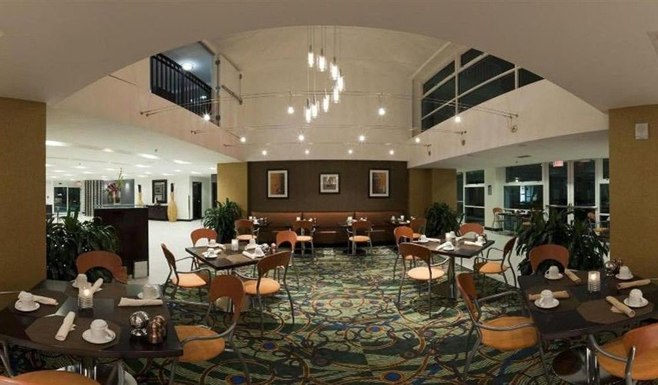 chair property building conference hall function hall Lobby convention center restaurant recreation room Dining