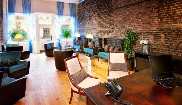 restaurant Lobby living room loft café interior designer Dining