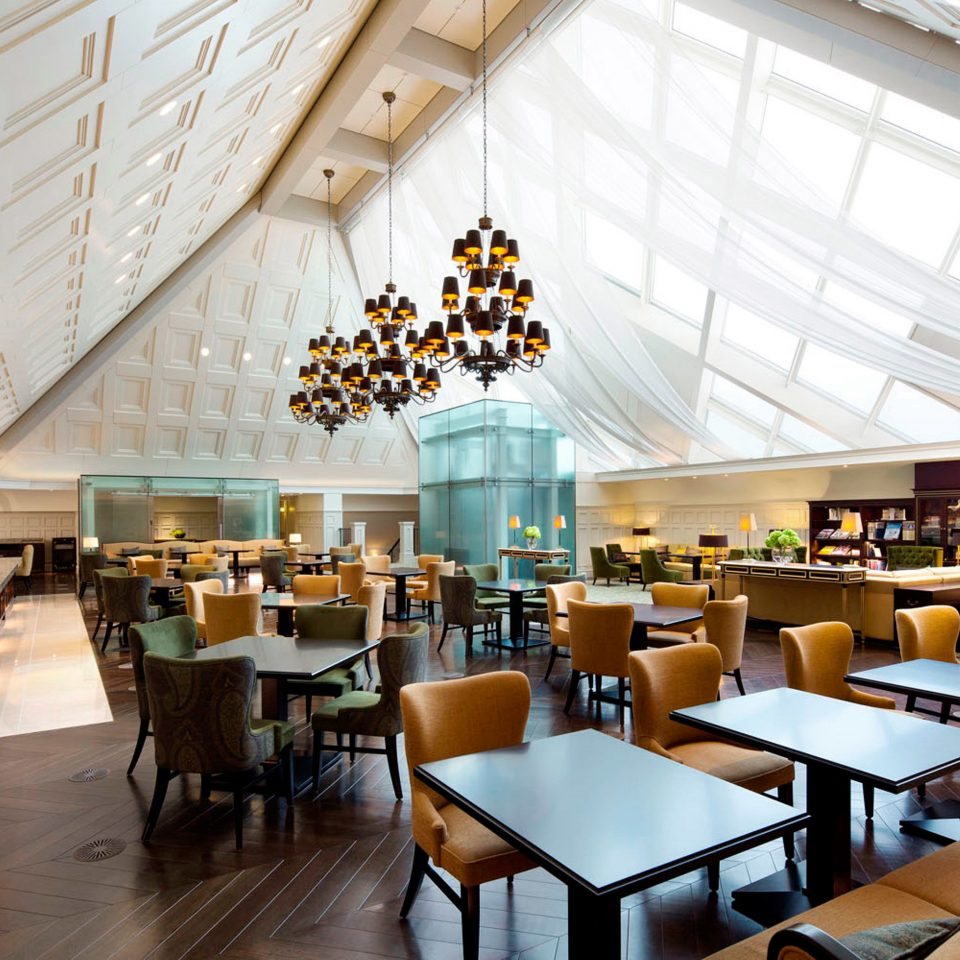 chair Dining restaurant library cafeteria convention center function hall Lobby café