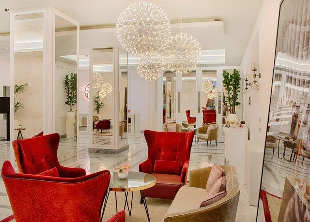 chair property living room red home Lobby Dining dining table