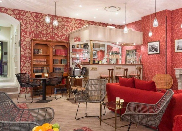 red chair property living room home Lobby Dining