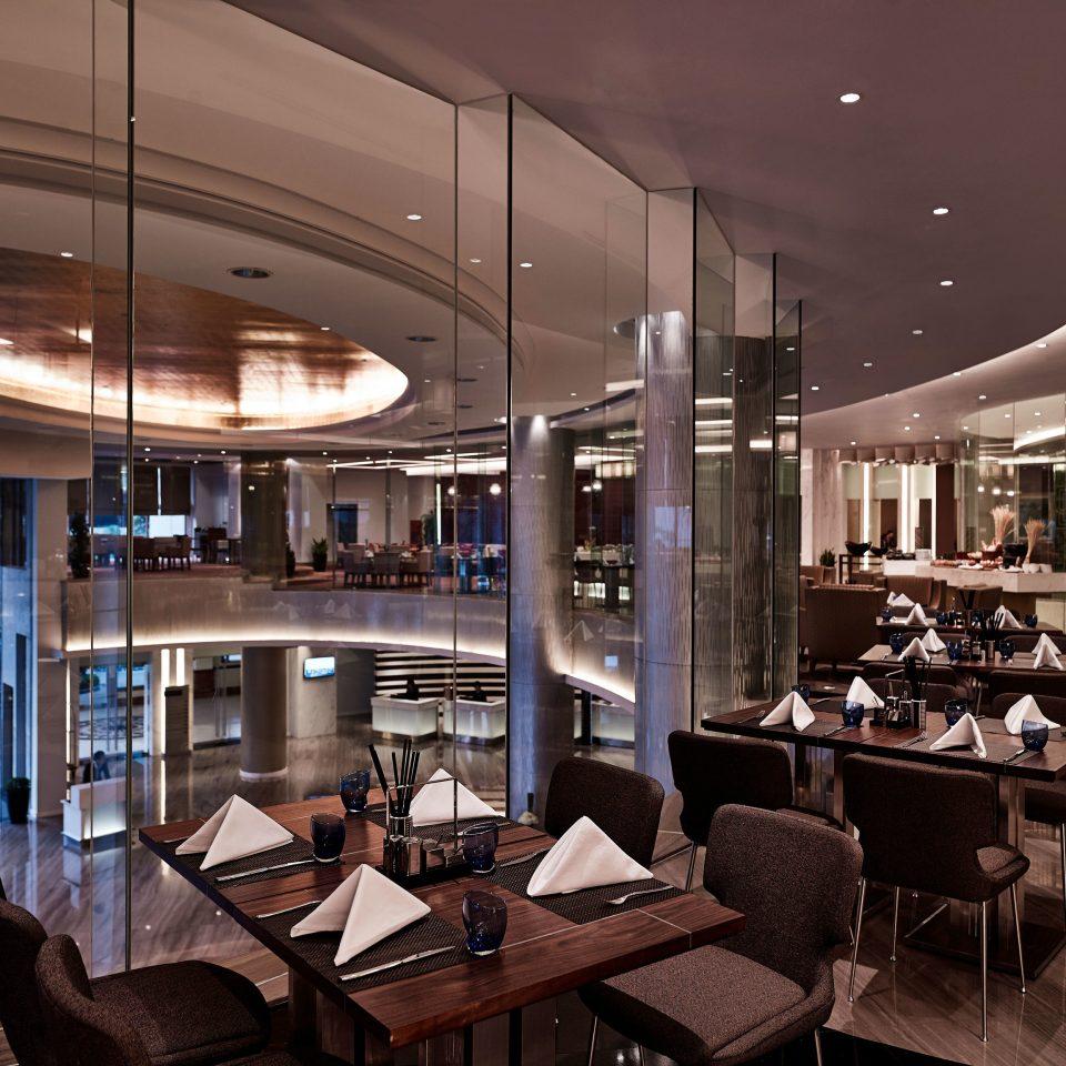 chair Lobby lighting yacht restaurant Dining