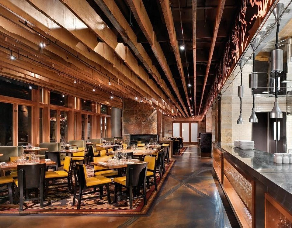 restaurant Dining Lobby long