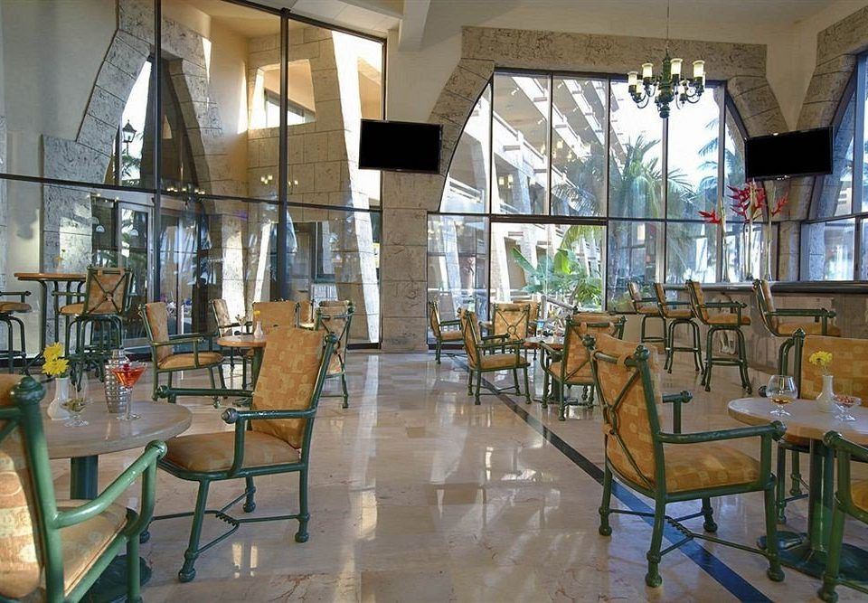 chair property building Lobby restaurant Dining condominium Resort