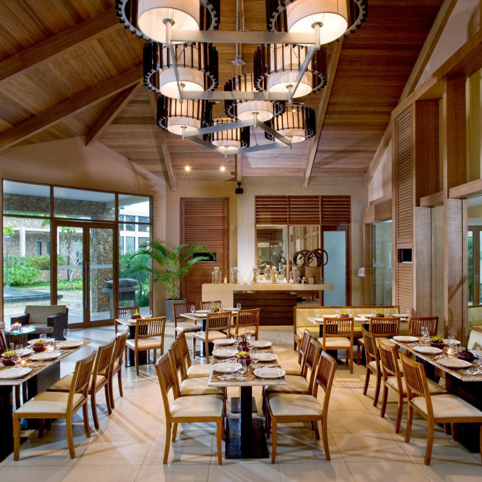 chair property Dining Resort restaurant home Lobby wooden palace function hall mansion living room