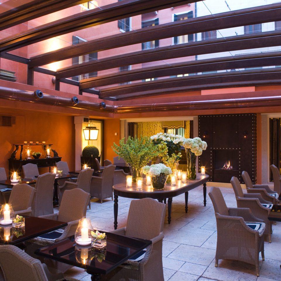 Dining Romance Romantic restaurant function hall Lobby Resort