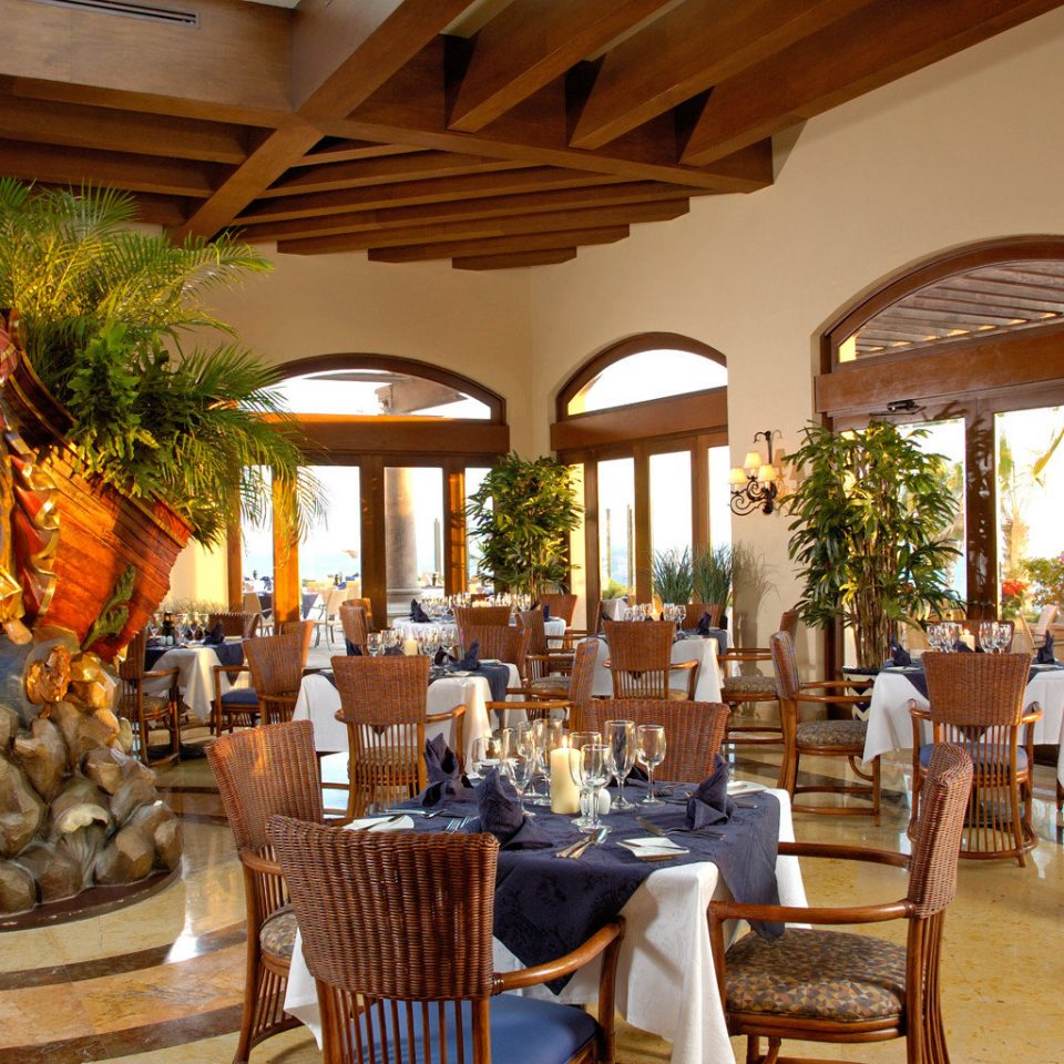 chair property Resort Dining restaurant home Lobby hacienda palace Villa dining table