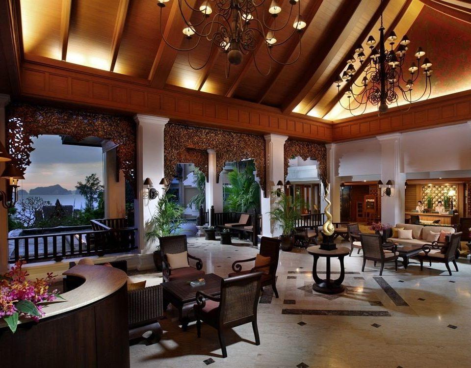 Lobby property Resort restaurant home function hall mansion Dining palace living room Villa