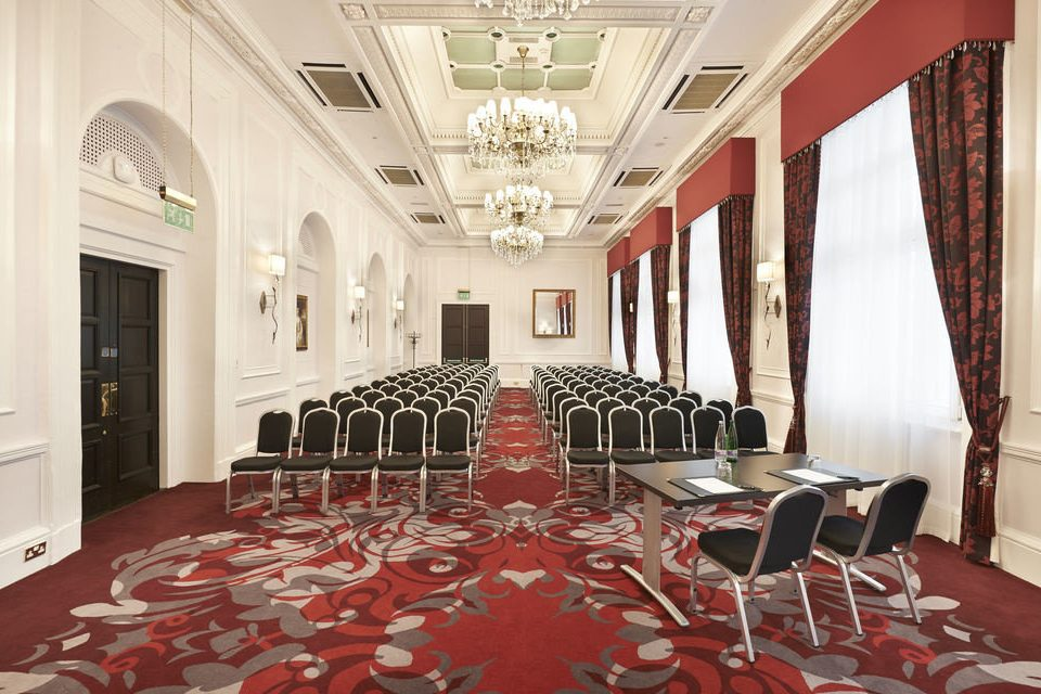 red property conference hall function hall mansion Lobby ballroom living room palace Suite Dining