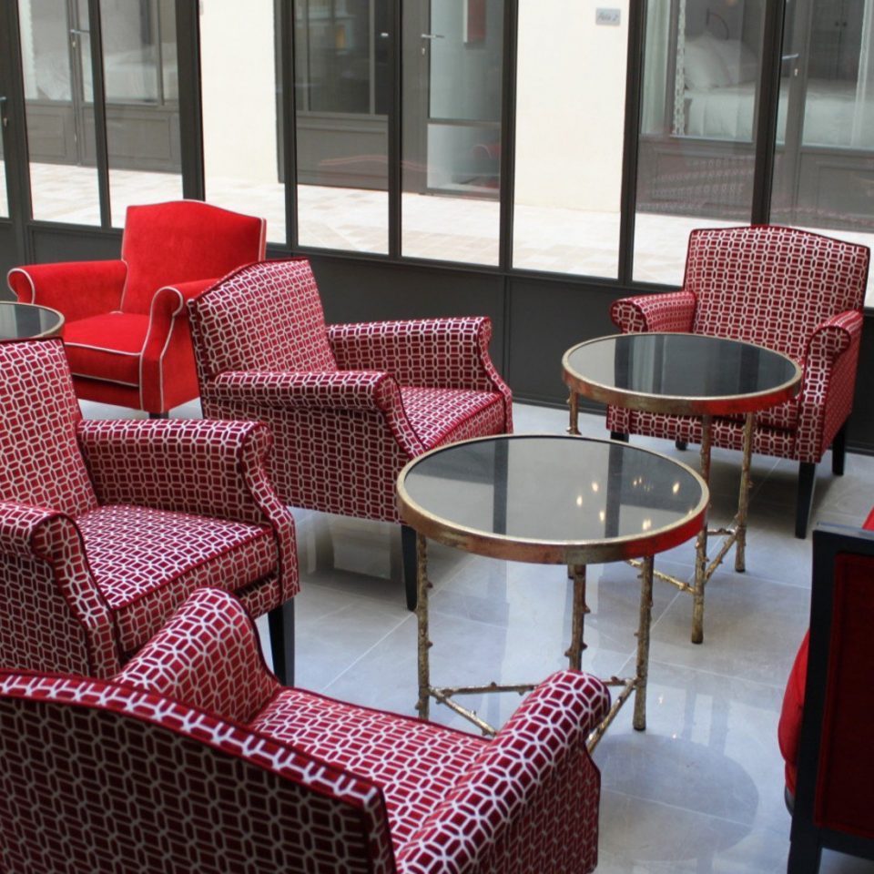 chair red Dining living room restaurant Lobby Suite dining table