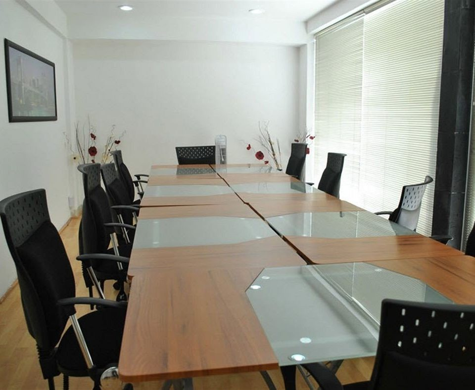Lounge Luxury office conference hall Dining conference room dining table leather