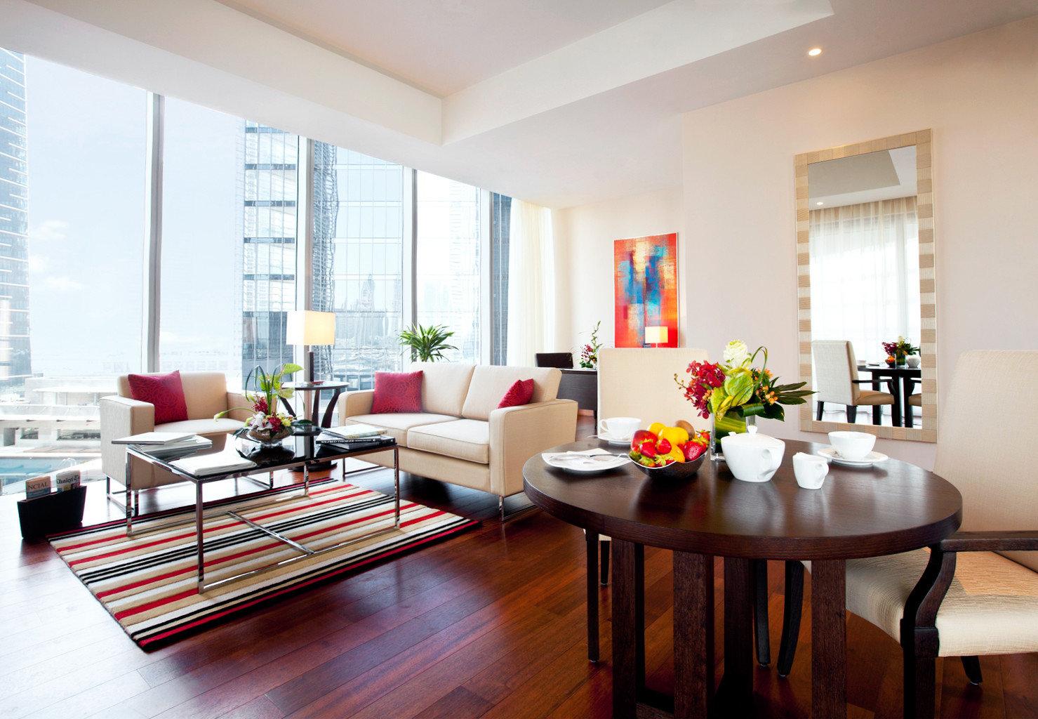 Lounge Luxury Modern Scenic views living room property home hardwood condominium Dining wood flooring loft flat hard