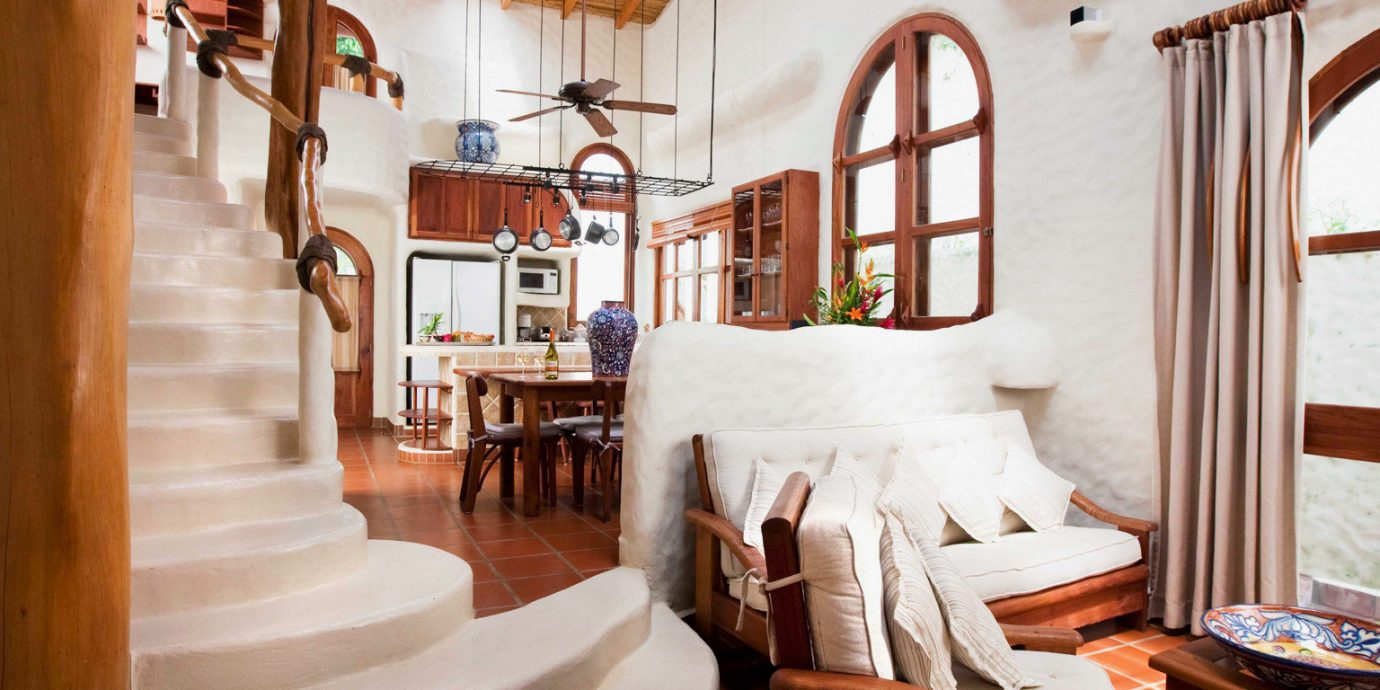 Luxury Rustic Tropical Villa chair property wooden home living room cottage Resort Dining farmhouse restaurant