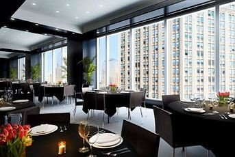 restaurant condominium Dining convention center Modern dining table conference room
