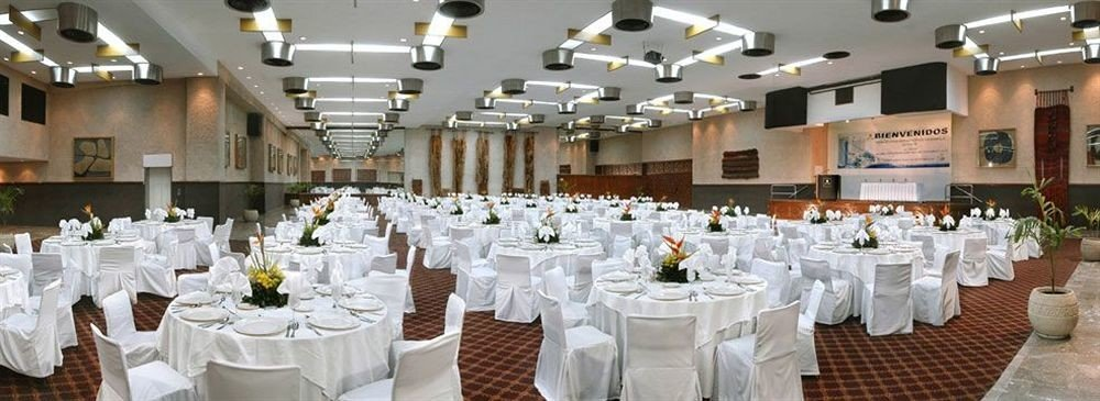 function hall banquet aisle wedding wedding reception ceremony Party ballroom Dining set dining table