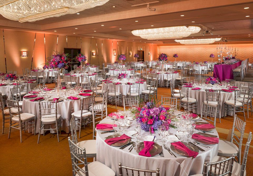 function hall banquet wedding reception Dining wedding centrepiece Party quinceañera ceremony ballroom floristry set