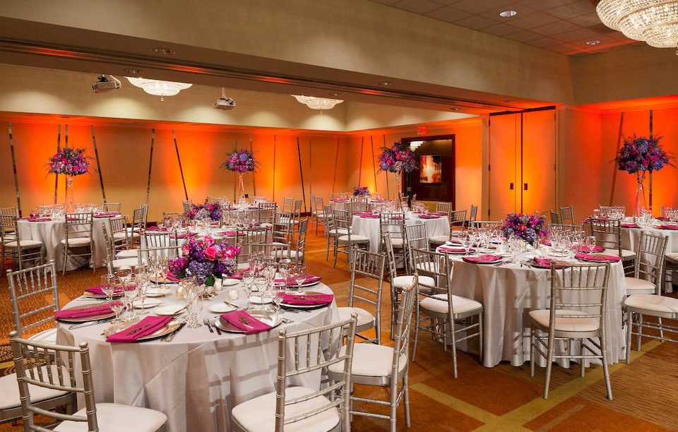 chair function hall banquet Dining wedding reception Party quinceañera restaurant ballroom wedding set
