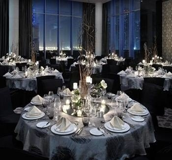 centrepiece banquet wedding fancy function hall wedding reception Party quinceañera floristry Dining ballroom dining table dinner set