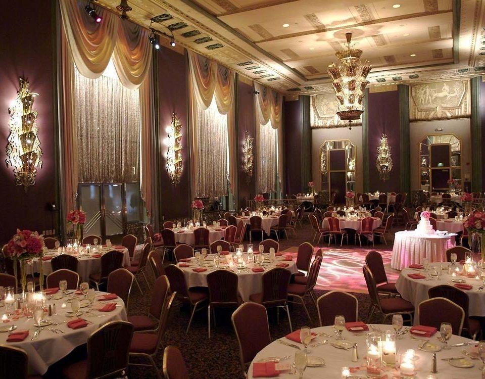 function hall Dining wedding banquet ceremony wedding reception restaurant ballroom Party dinner set